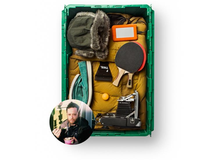 Brooklyn-based Photographer Noah Kalina uses MakeSpace for NYC storage.
