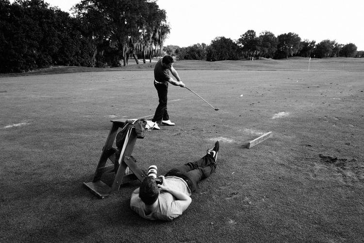 Collin Hughes photographs professional golfer Graeme McDowell.