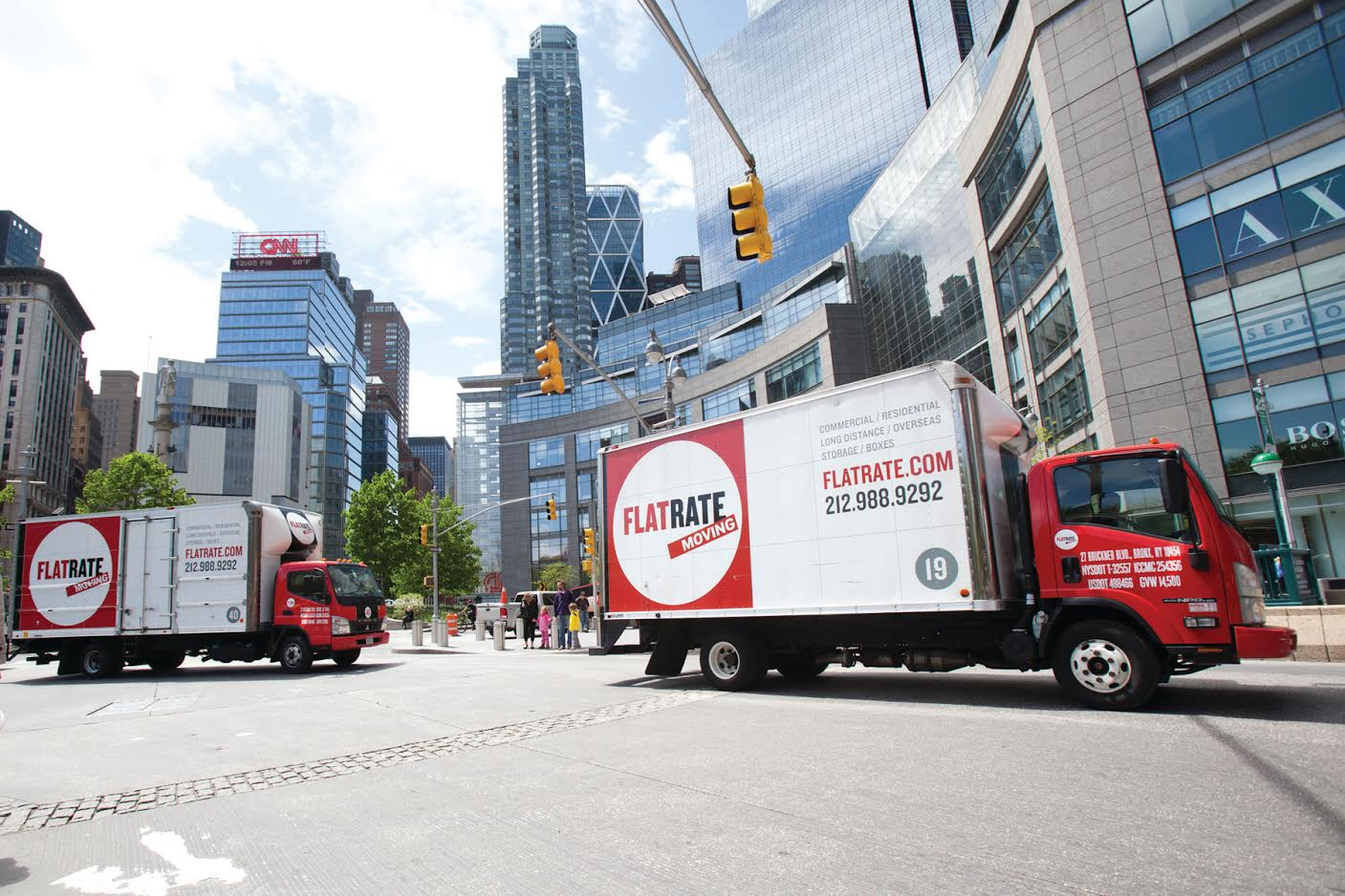 How to move from a house to a tiny NYC apartment: rent a moving truck.
