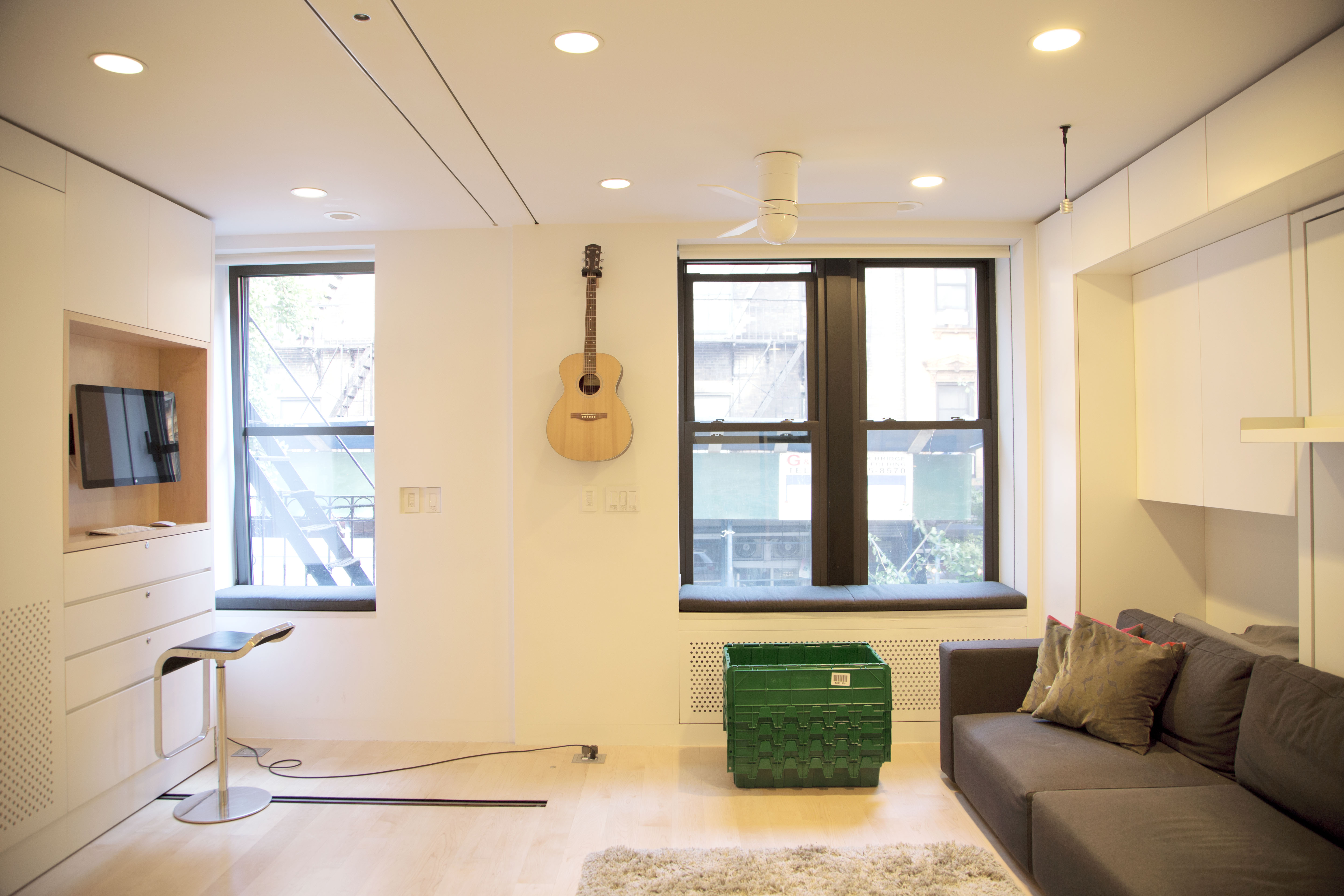 The Interior Of Graham Hills 420 Sq Ft Micro Apartment In SoHo