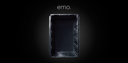 Store your negative thoughts and feelings in MakeSpace emo so you're happy every day.