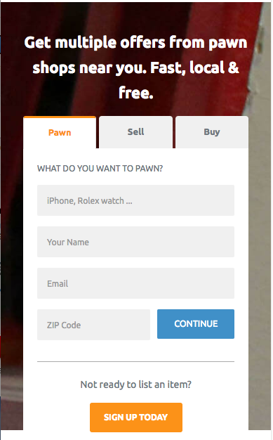pawnguru: get multiple offers from pawn shops near you
