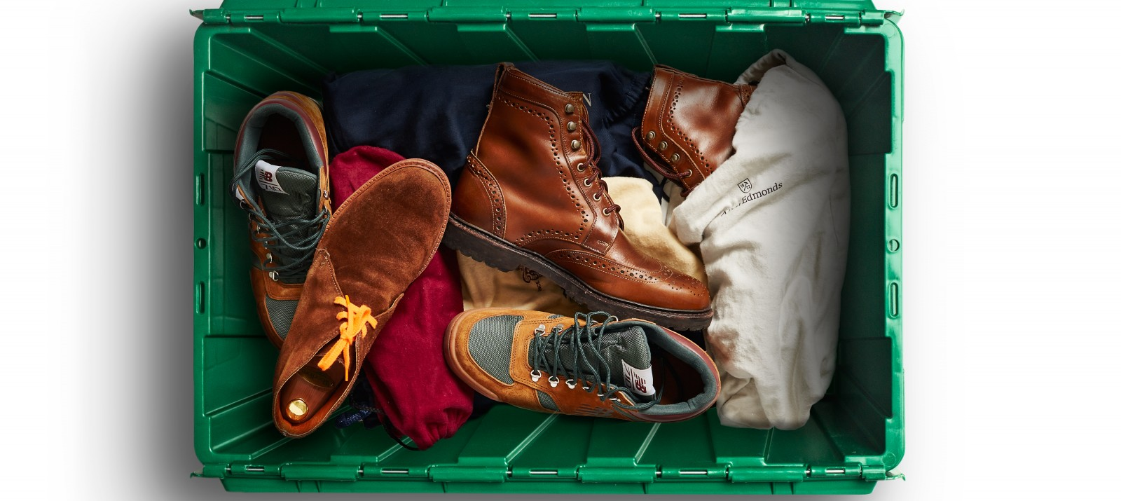 Frederick Castleberry uses MakeSpace for shoe, clothes, and boot storage in NYC.
