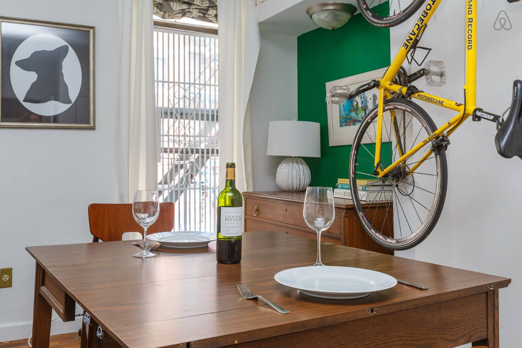 MicroGreens Founder Alli Sosna Has A Transforming Dining Table With Storage  In Her Tiny NYC Apartment