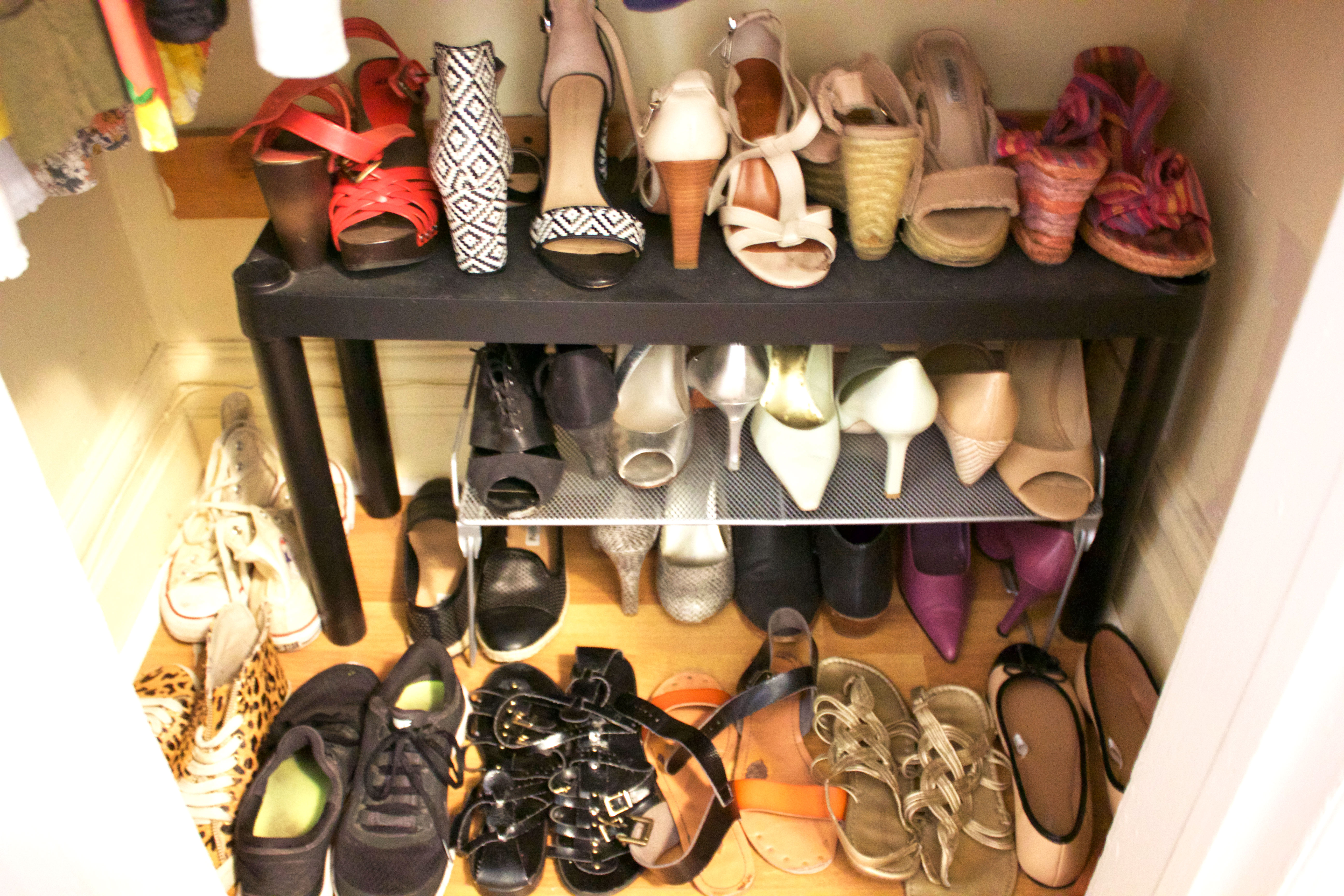 Merveilleux Organized Shoes Closet Nyc Professional Organizer Anna Bauer