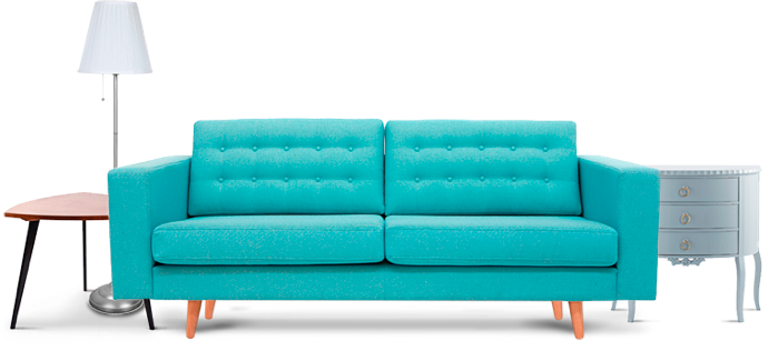MakeSpace offers furniture storage for sofas, couches, tables, lamps ...