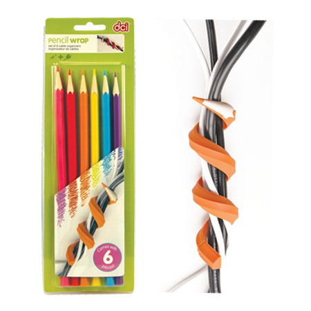 Pencil Wrap Cord Organizer