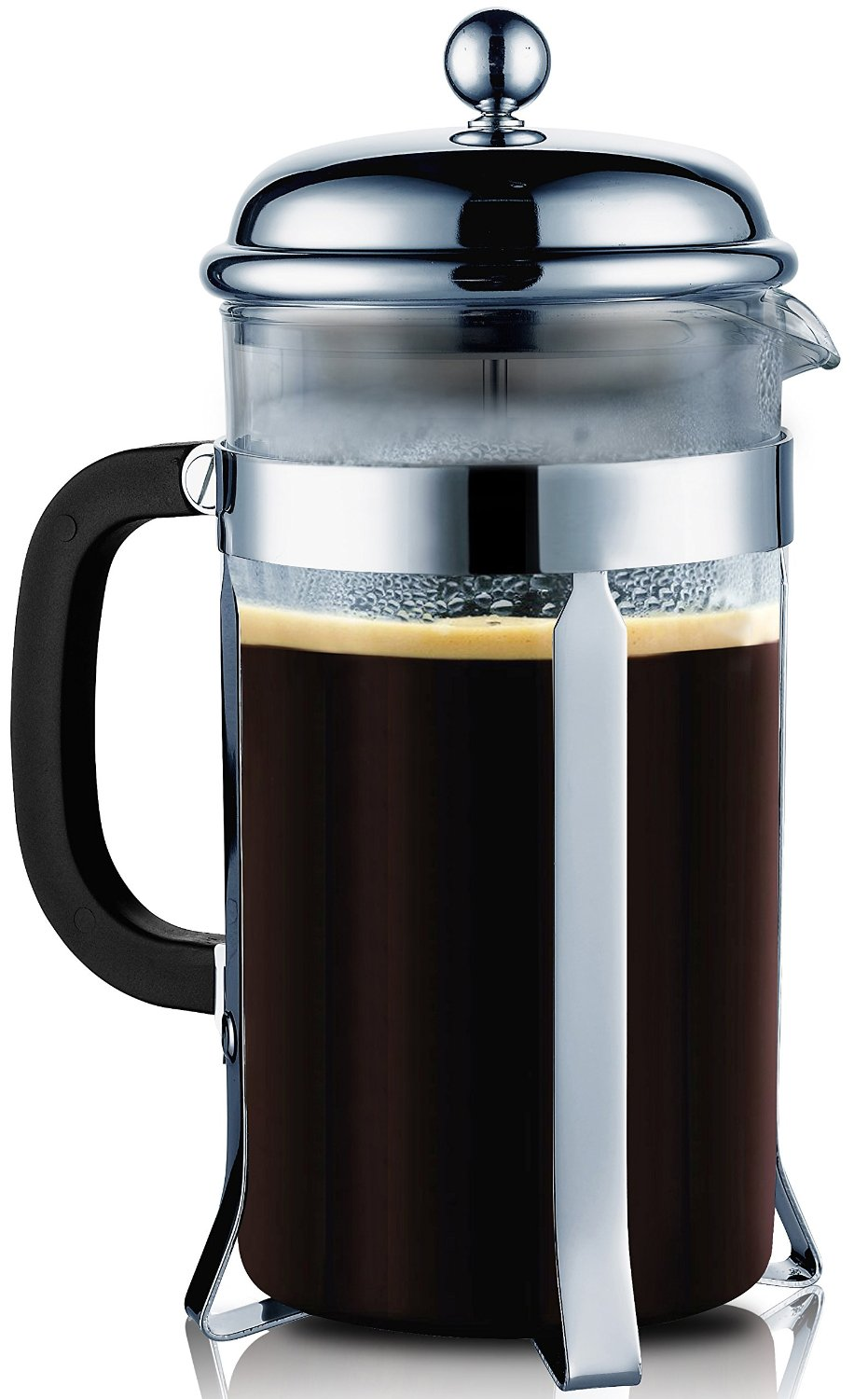 A Sterling Pro French Press coffee maker.