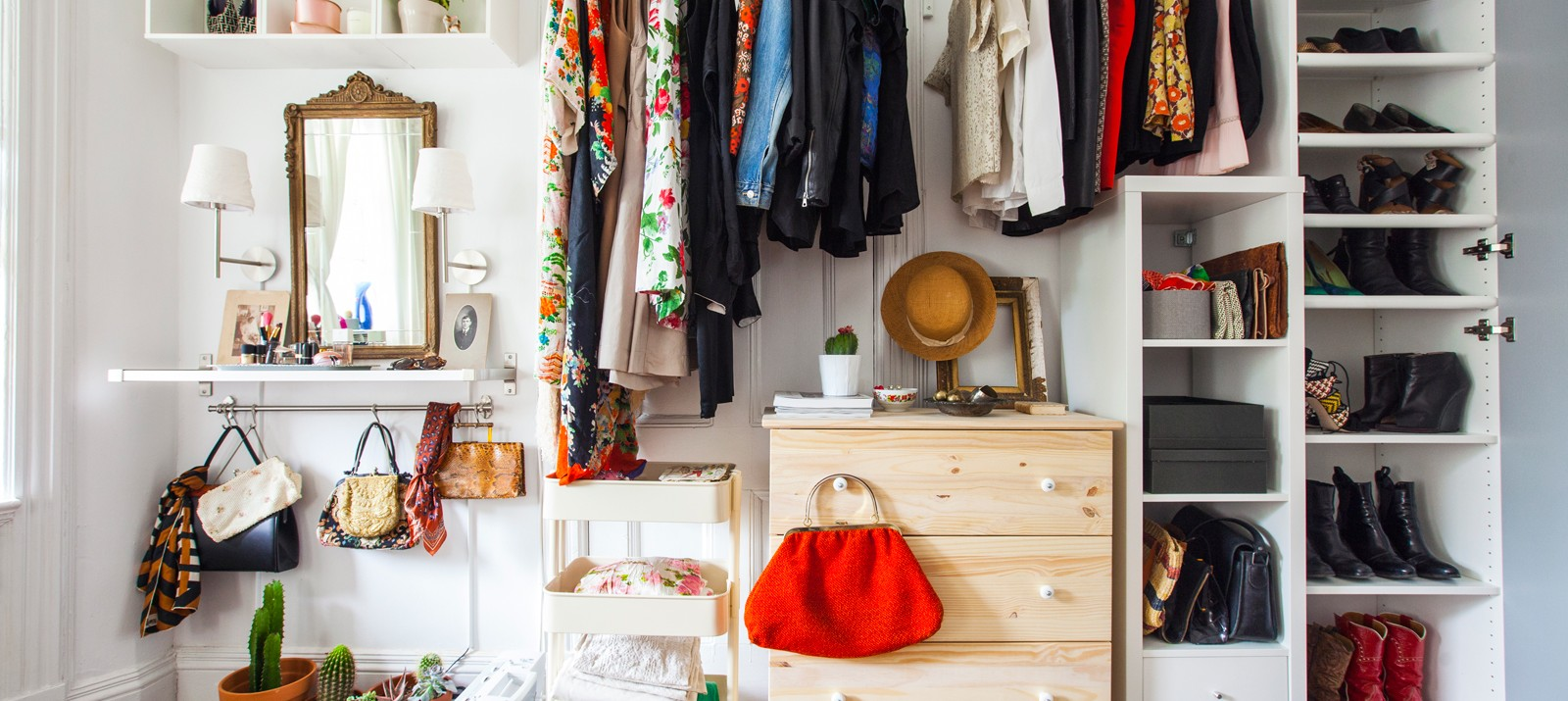 A Diy Closet Made With Ikea Hacks