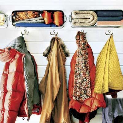 Winter Coat Hooks