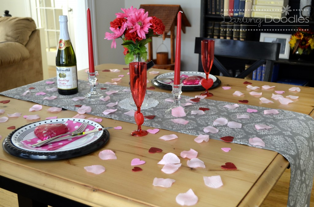 How to share a tiny apartment with your significant other for Valentines dinner party ideas