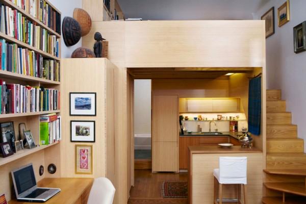 seggerman-studio-apartment-nyc-loft-bed | Elbow Room