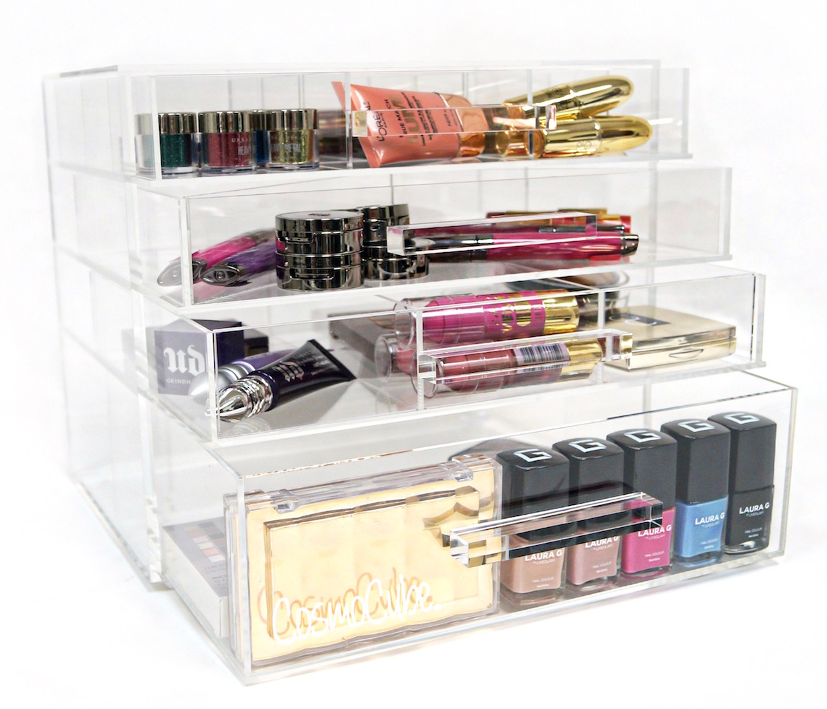 A CosmoCube Posh Makeup Organizer is one of the best Valentine gift for girlfriend.
