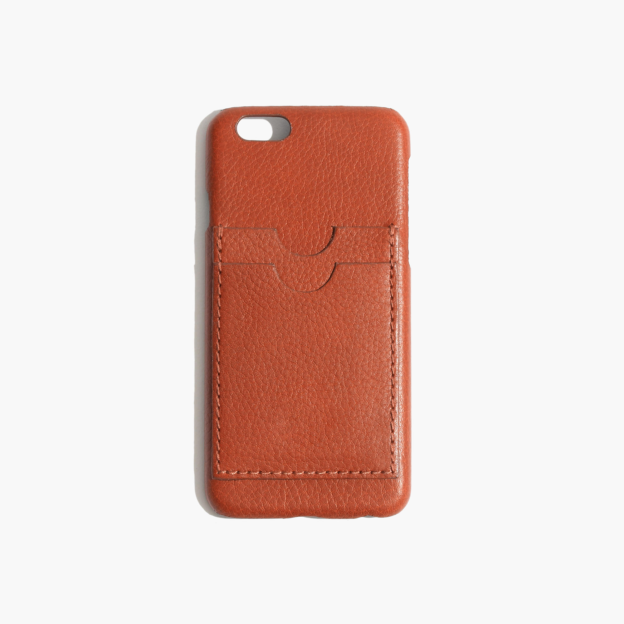An english saddle Leather Caryall Case for iPhone 6 from Madewell is an example of a perfect valentine's day gift ideas for her.