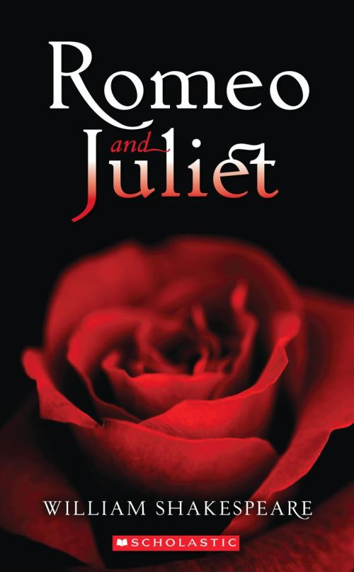 William Shakespeare Romeo and Juliet book cover.