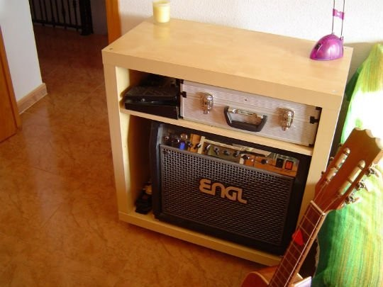 an ikea expedit bookcase was hacked into engl guitar amp storage