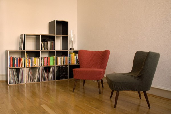 Swap your couch for chairs to save space in a small apartment.