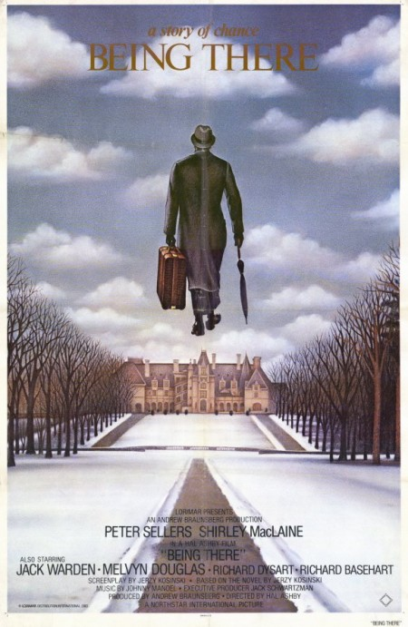 'being there' movie poster
