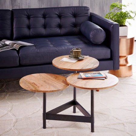 Tiered Circles Coffee Table from West Elm
