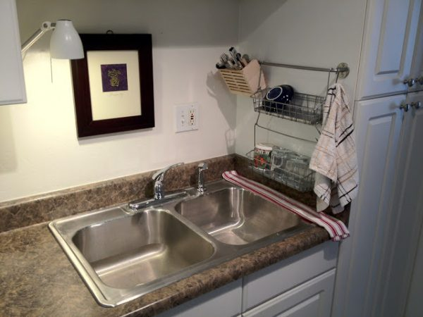 Kitchen Storage Hack Use An Ikea Bygel Rail Wire Baskets And