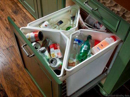 kitchen-drawer-recycling-center | Elbow Room