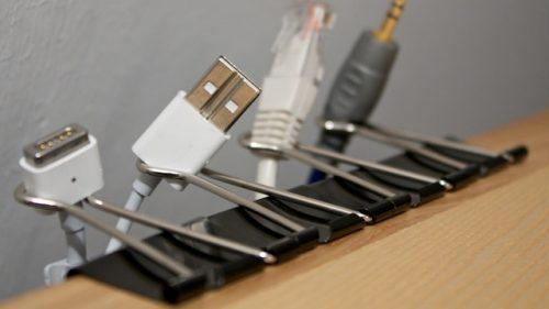 binder-clips-cord-storage-hack - Elbow Room