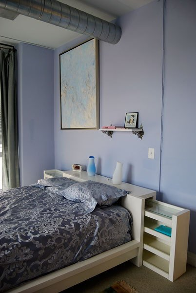 53 insanely clever bedroom storage hacks and solutions Brimnes headboard hack