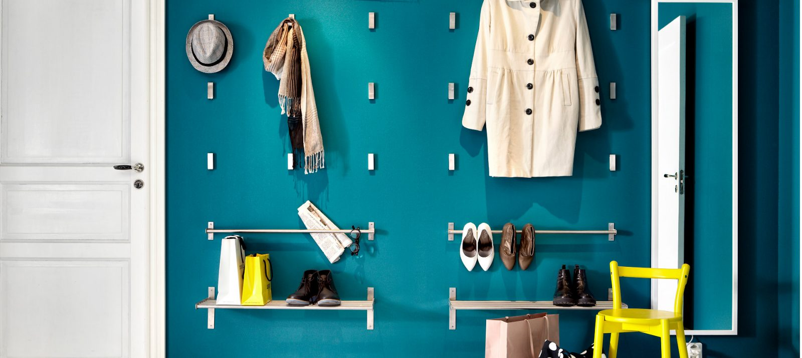 Ikea Bjarnum Folding Hooks Are Stylish And Cheap Bedroom Storage Hacks Solutions
