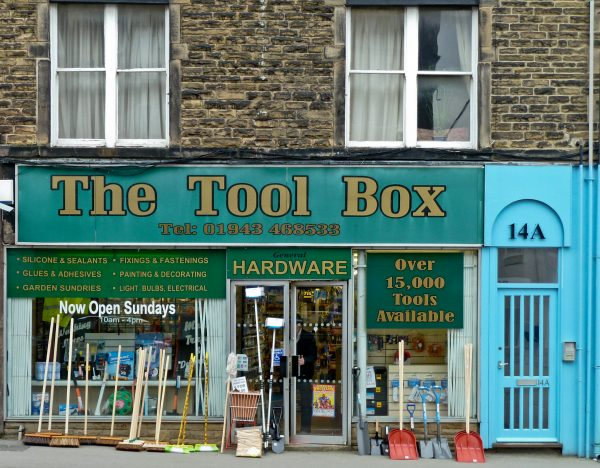 the tool box hardware store sells plenty of packing, moving, and storage supplies