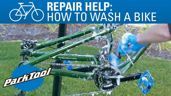 How to wash a bike: Use dish soap, a brush, and water