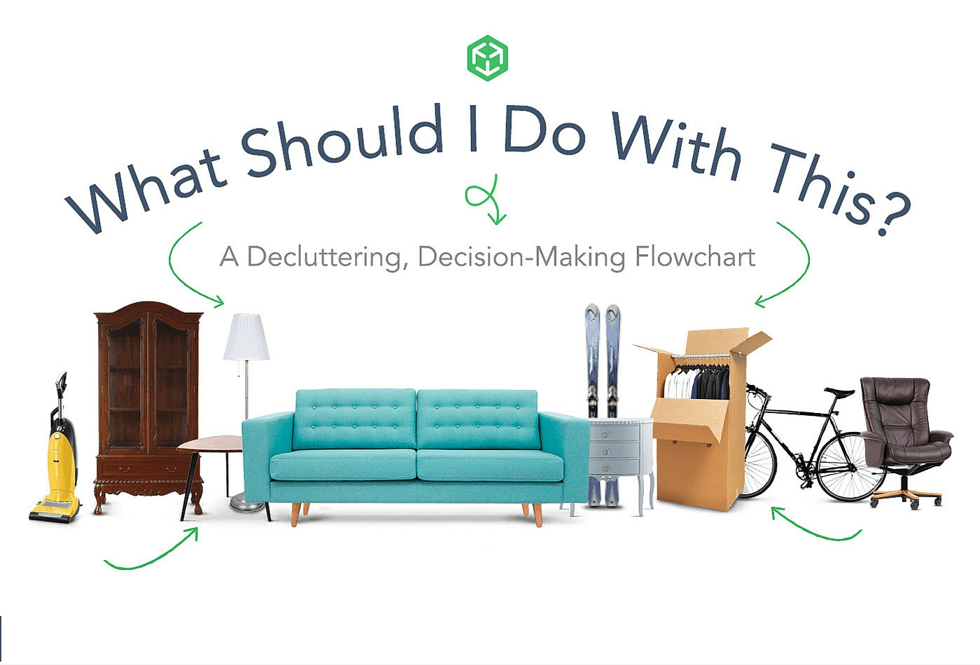 Decluttering Flowchart by MakeSpace storage