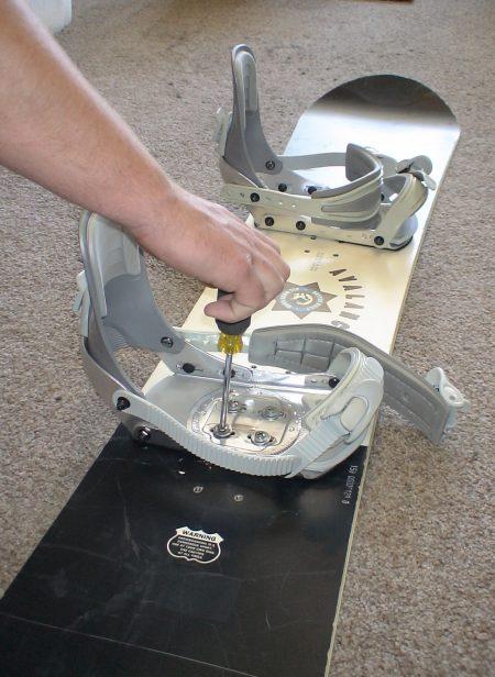 remove snowboard bindings