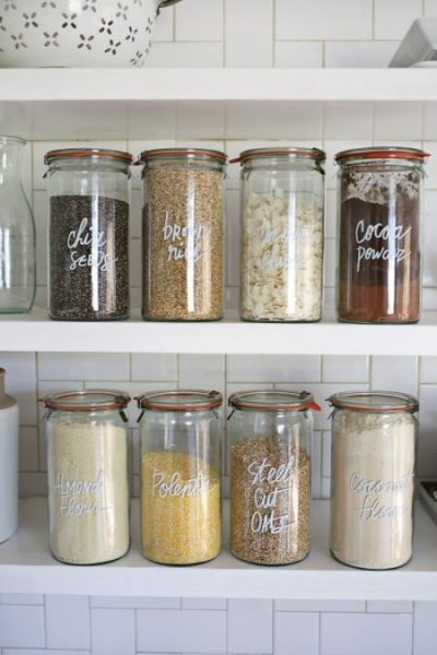weck jars kitchen storage idea for spices snacks seasonings seeds herbs. beautiful ideas. Home Design Ideas