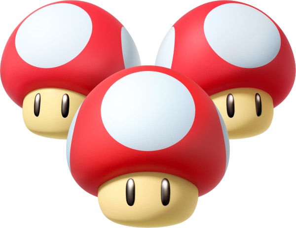 mario kart 8 triple mushrooms