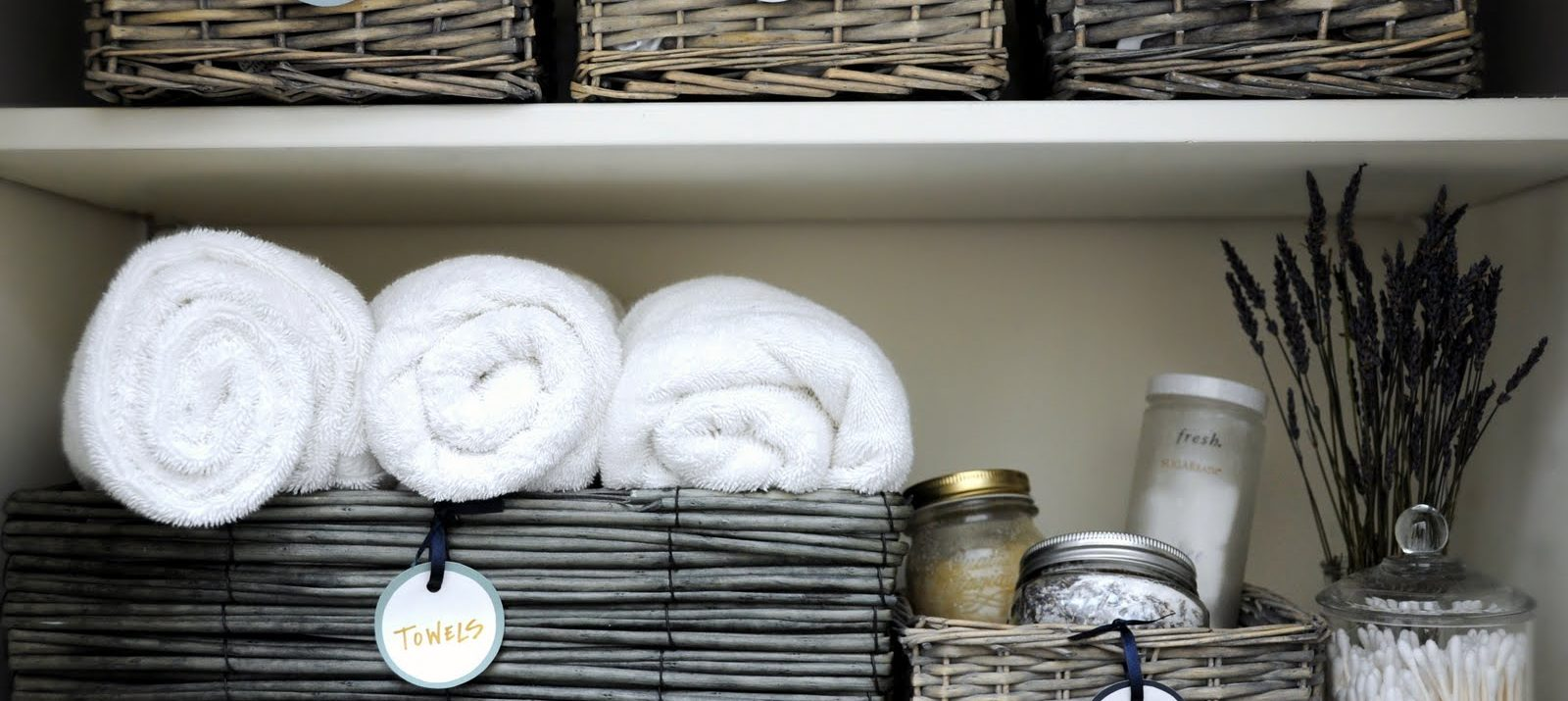 How To Organize Linen Closet: Declutter, Sort By Category, And Store Things  In