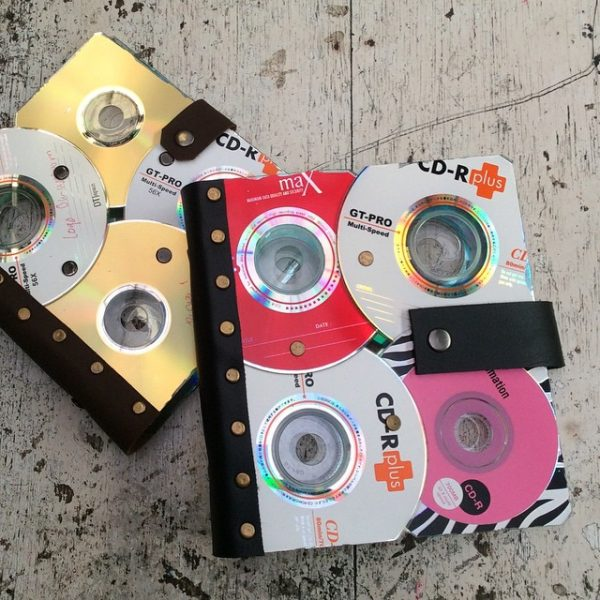 diy cd storage binder