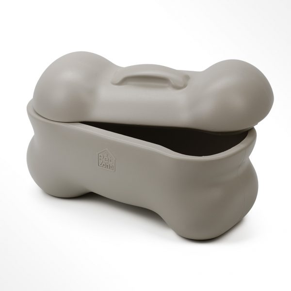 dog bone storage bin by ourpets