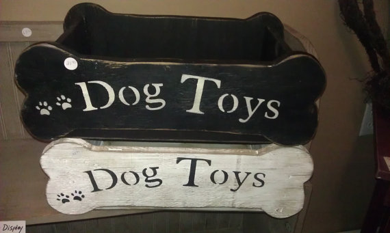 dog toy box by black squirrel primitives