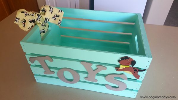 diy dog toy box by dog mom days