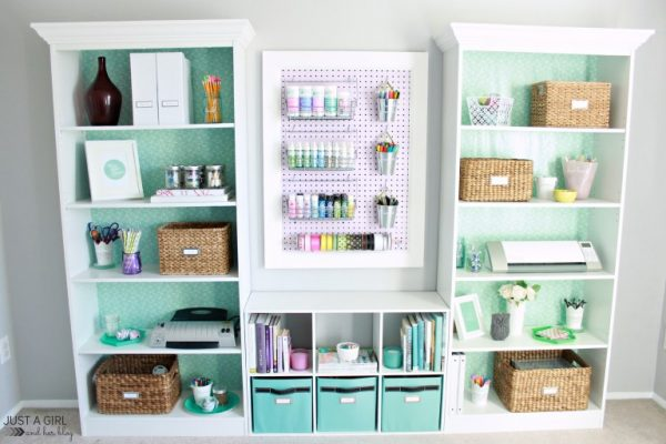 diy craft supply storage