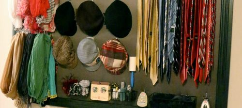 diy storage ideas and solutions: a his and hers closet organizer