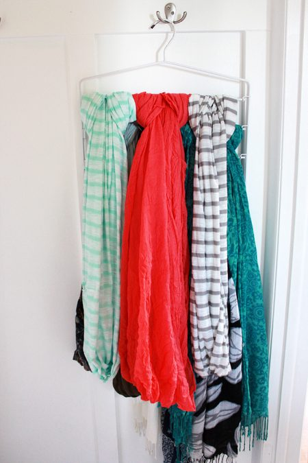 hanging scarves pants hanger