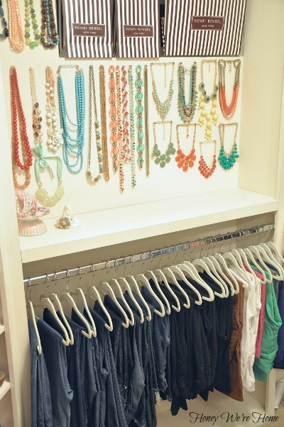 organize closet like boutique