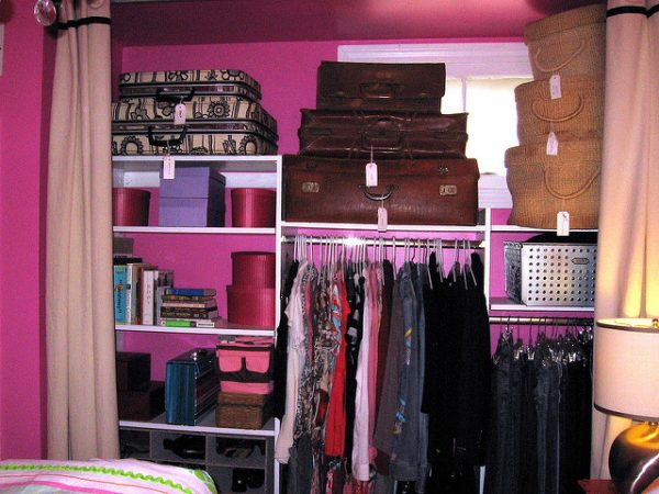 3) Protect Your Luggage From Damage By Choosing The Right Location. Luggage  Closet