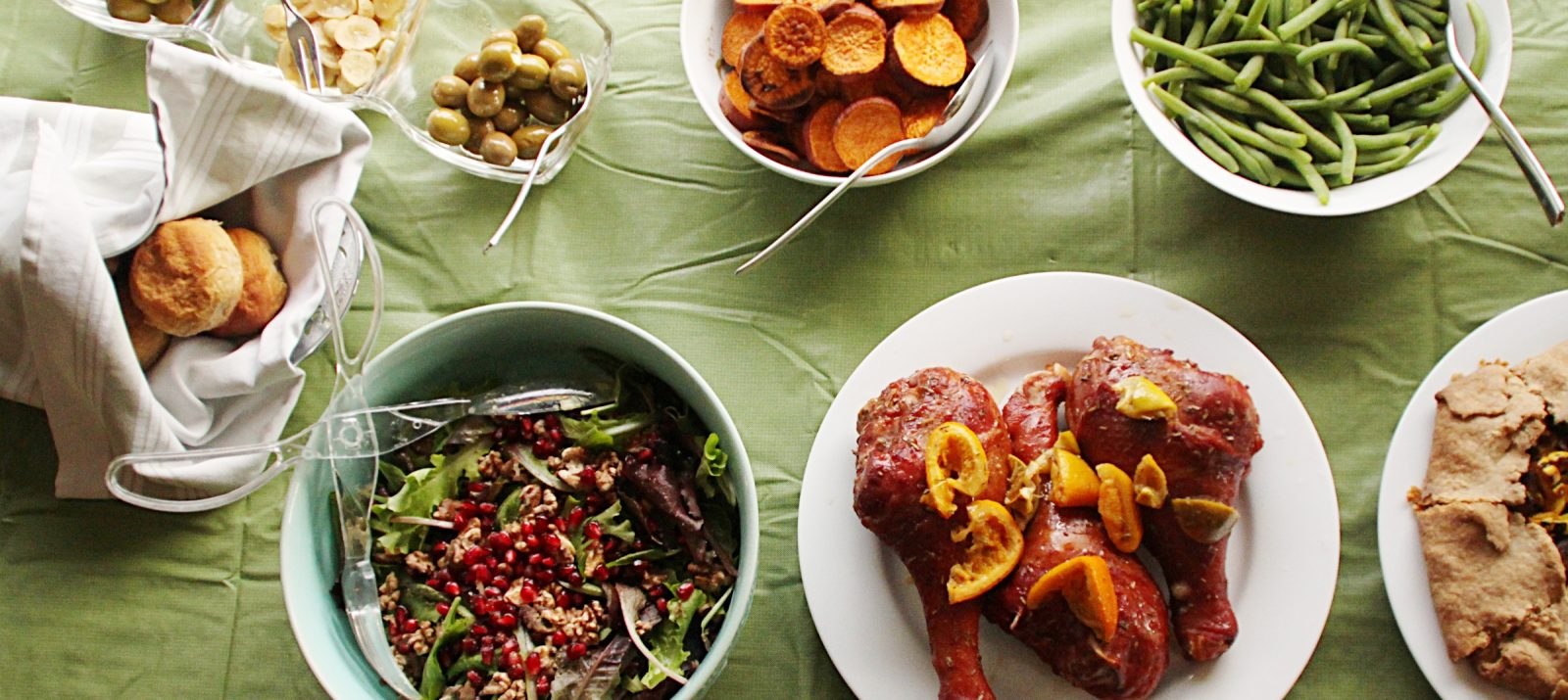 host thanksgiving in a small space
