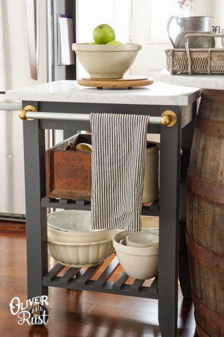 Ikea Bekvam Kitchen Cart Hack