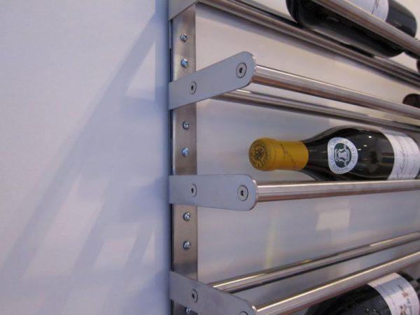 ikea grundtal towel rail hack wine rack