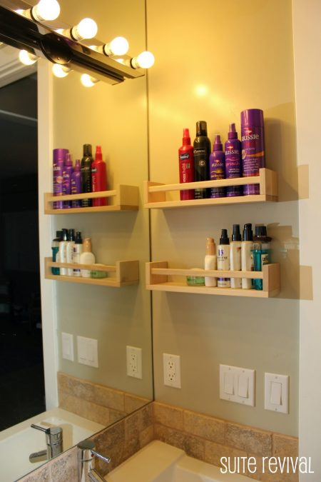 ikea-bekvam-spice-rack-hack-toiletry-shelves | Elbow Room