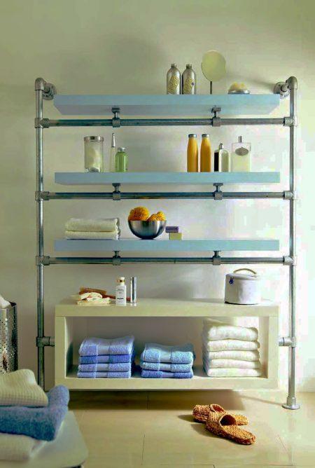 ikea lack wall shelf hack floating bathroom shelves