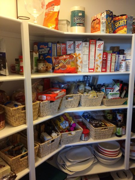 Kitchen Food Pantry